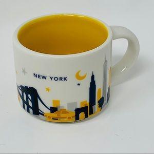 Starbucks New York You Are Here 2 oz. Mug, 2013